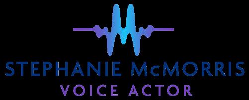 Stephanie Mcmorris Voice Actor Branding Logo